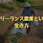 フリーランス農業という生き方